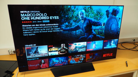 DOLBY VISION:Netflix-serien Marco Polo er tilgjengelig i Dolbys proprietære HDR-format.