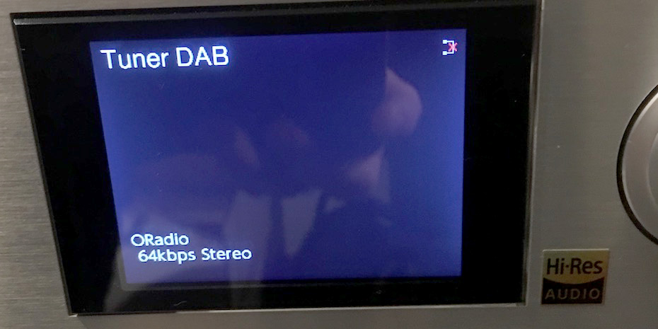 DAB-radio låter inte bra i 64 kbit/s, men det är inte Pioneers fel. Foto: Geir Gråbein Nordby