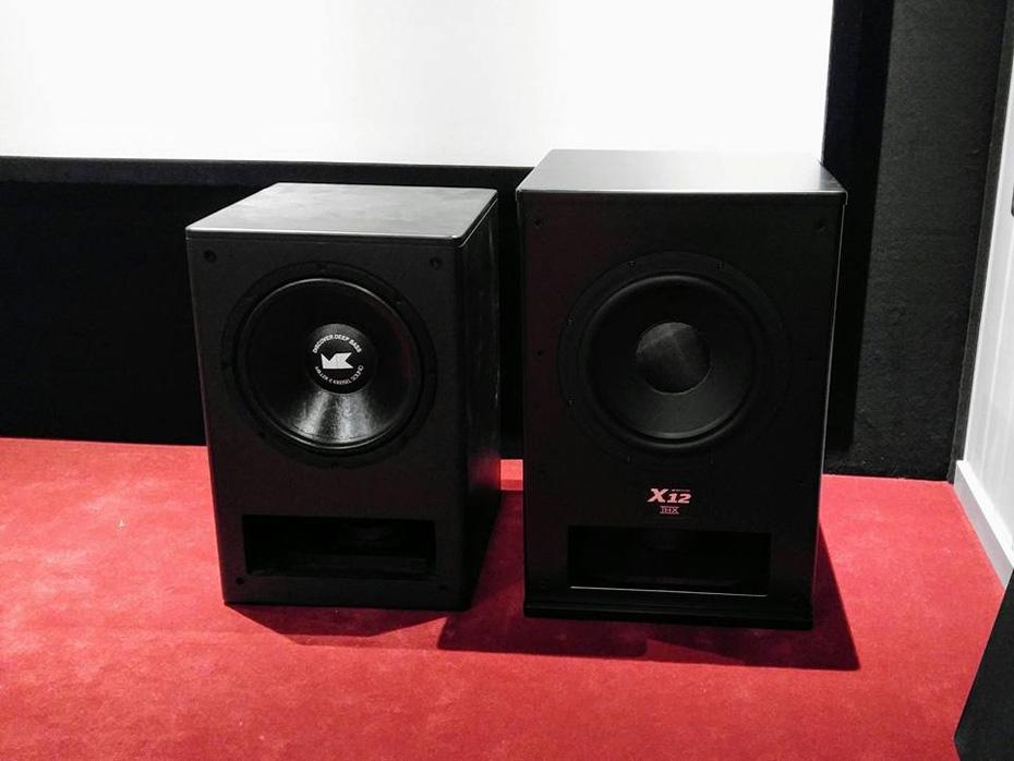 M&K Sound X12-subwoofern är ett nummer större än den gamla MX350, men trycker till desto hårdare i djupbasen.