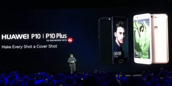 Fargeglad Huawei P10 med superkamera