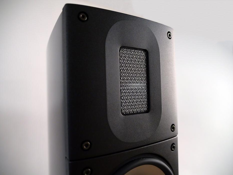 Banddiskanten är extremt precis och bryter inte upp förrän vid 82 kHz – långt över de 50 kHz som den är specad till. Foto: Geir Gråbein Nordby