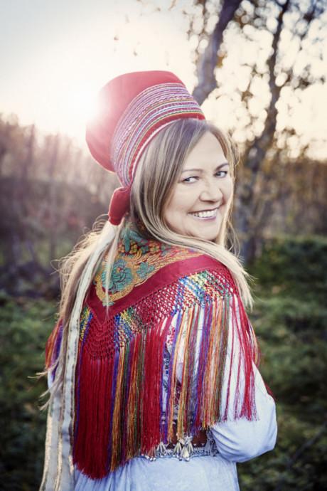 Mari Boine är definitivt inte färdig med musik på samiska. Foto: Gregor Hohenberg