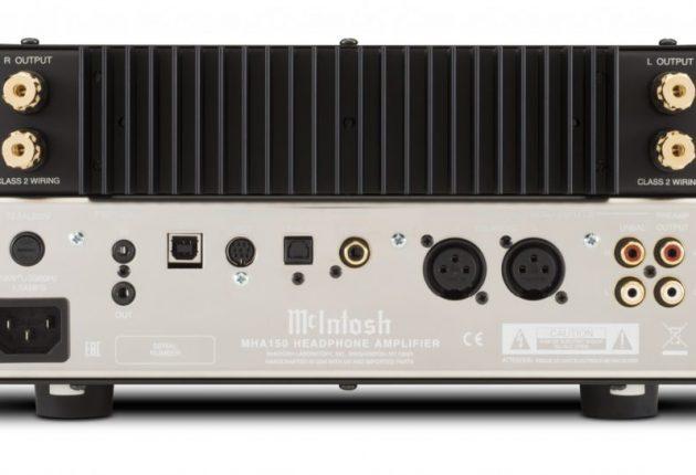 USB-inngangen støtter oppløsninger opp til 384 kHz. Forsterkeren har også 2 x 50 watt til et par høyttalere. Foto: McIntosh