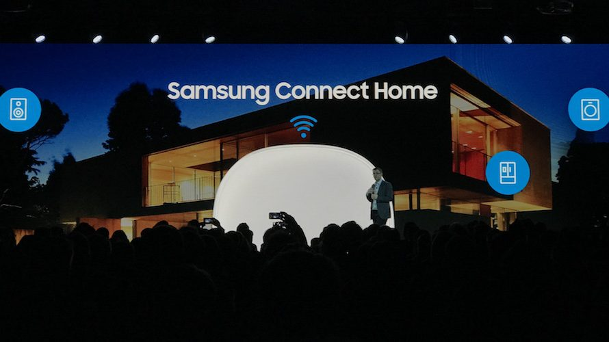 Samsung satser på smarte hjem