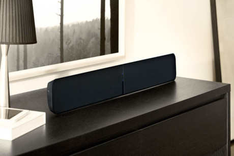 Bluesound_Pulse_Soundbar miljo