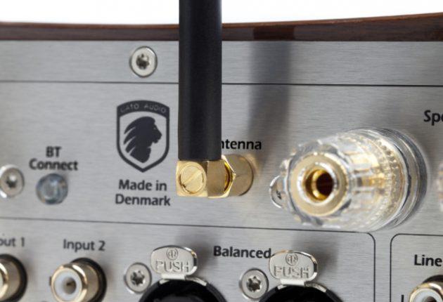 Man finner alle tenkelige digitale innganger på DIA-400S. Selvfølgelig også Bluetooth. Foto: Gato Audio