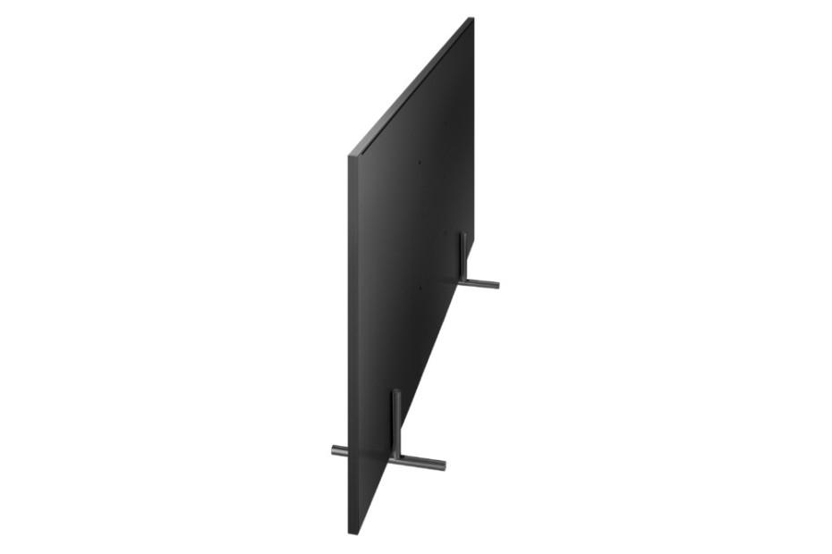 Q9-serien är platt hela vägen runt. Foto: Samsung