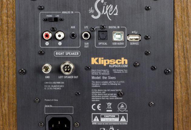 Innganger for både analoge og digitale lydkilder, også for platespiller.