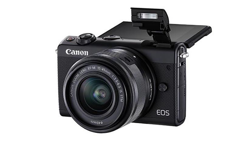 Canon EOS M100 har 24 Mp-sensor. Foto: Canon