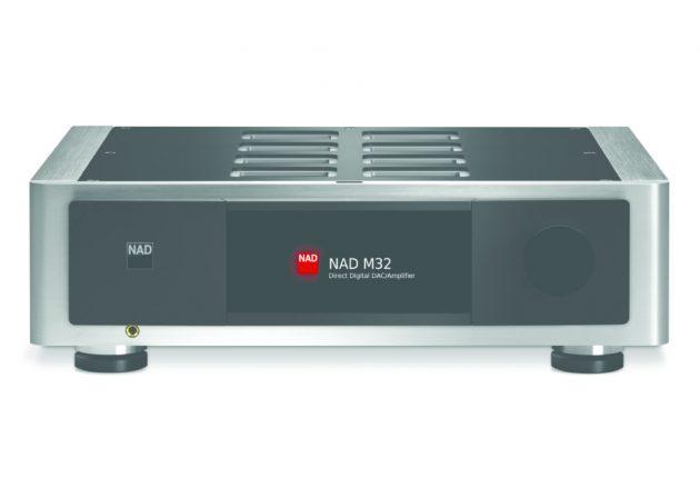 M32 er like minimalistisk, som vi er vant til fra NAD. Men utførelsen er i en annen og høyere klasse.