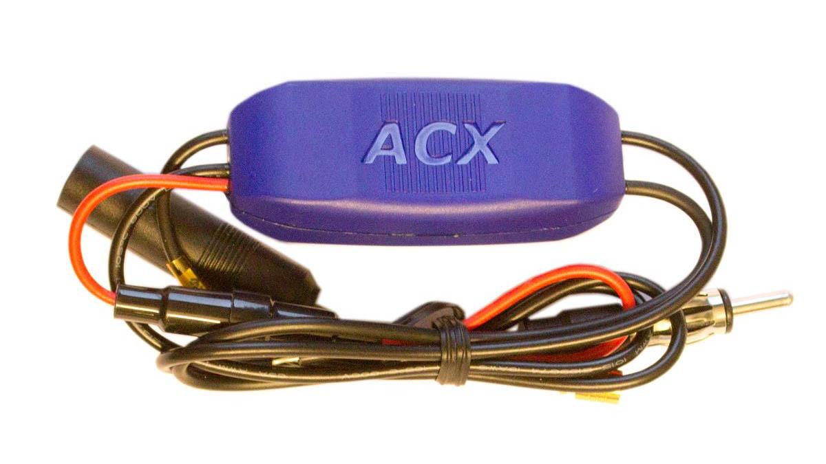 Bedre DAB-dekning i bilen med ACX Antenne / aktiv splitter KIT.