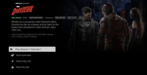 Netflix 4K HDR – Daredevil