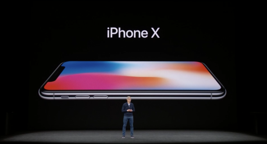 ny skärm iphone x