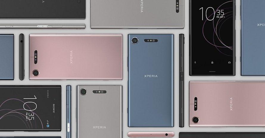 De nye toppmodellene Xperia XZ1 og Compact