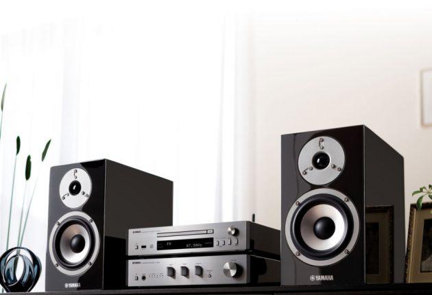 Yamaha-anlegget finnes også med sort elektronikk. Foto: Yamaha