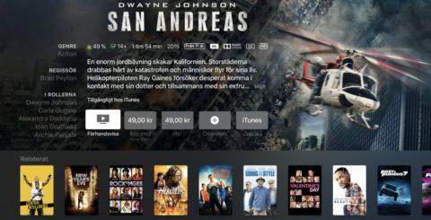 iTunes 4K HDR – San Andreas