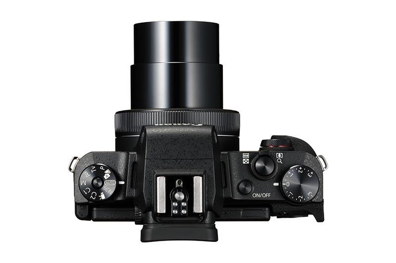 Canon PowerShot G1 X Mark III topp