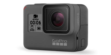 GoPro Hero6 Black har äntligen fått högre bildkvalitet, inklusive 4K med upp till 60 bilder per sekund. Foto: GoPro