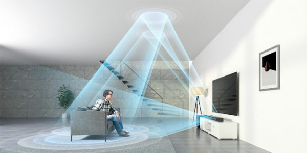 3 Lydplanker med Dolby Atmos