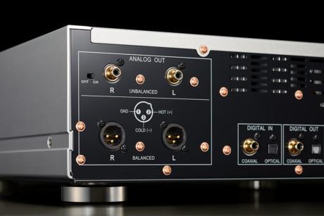 Rent teoretiskt ger balanserade analogutgångar ett renare ljud. Det finns digitala in- och utgångar också. Foto: Pioneer