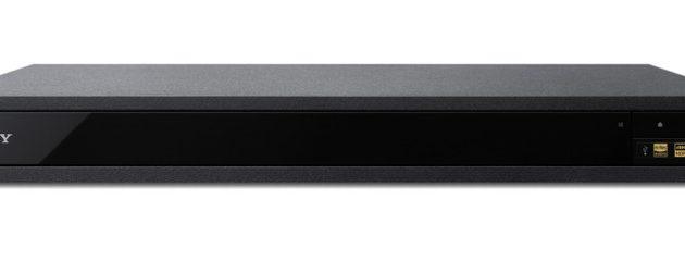 Sony UBP-X800 har et minimalistisk utseende. Selv displayet glimrer med sitt fravær.
