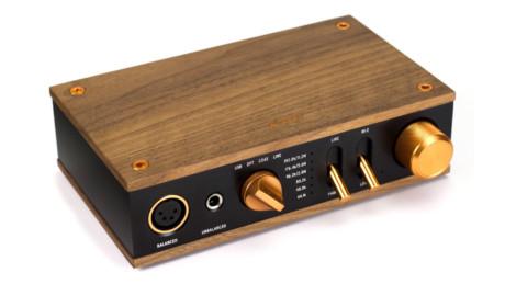 Klipsch rekommenderar Heritage Headphone Amp till HP-3, men det är inte nödvändigt. Pris: 7 000 kr. Foto: Klipsch