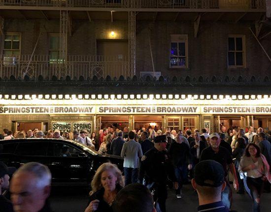«Springsteen on Broadway» (Foto: brucespringsteen.net)