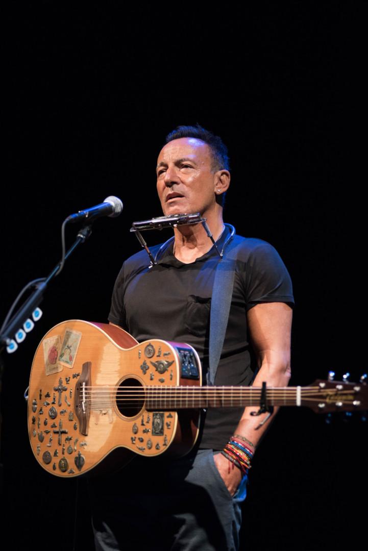 Historieberättaren Springsteen är i fokus på Browdway – och i den kommande Netflix-filmen. Foto: Rob DeMartin