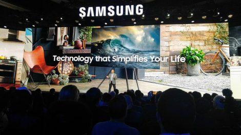 Første kikk på Samsungs 2018 TV-modeller