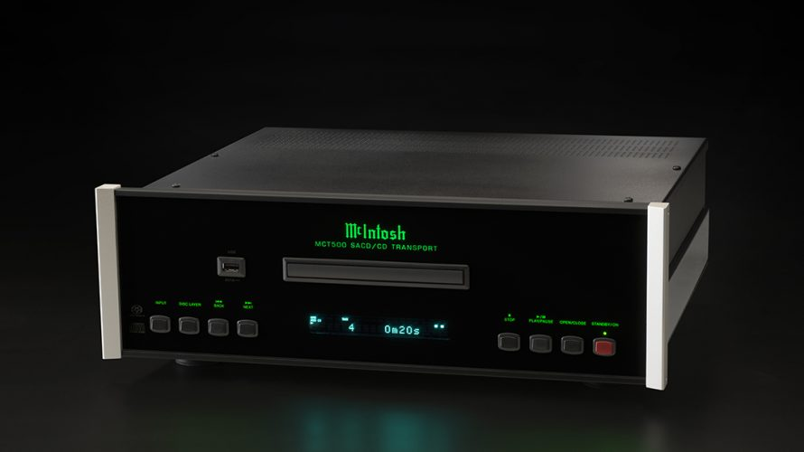 McIntoshs nye MCT500 SACD/CD-transport