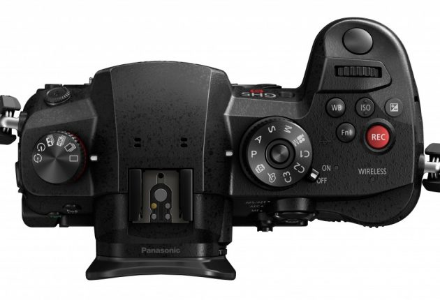 Den røde opptaksknappen skal vise at GH5S er et rendyrket videokamera.