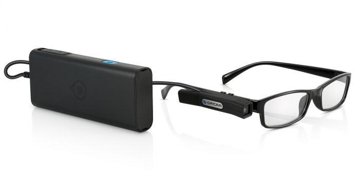 Lesekamera holder høytlesning for blinde
