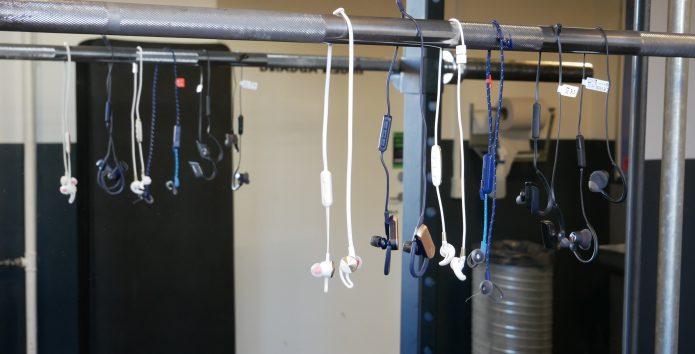 6 trådløse ørepropper