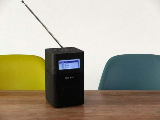 8 bærbare DAB-radioer