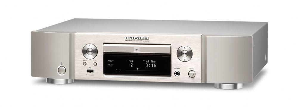Marantz ND8006 ligner en gammeldags CD-spiller, men er i virkeligheten både strømmer, DAC og digital forforsterker. Foto: Marantz