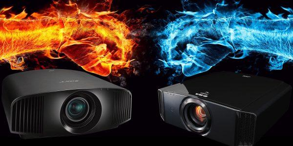 JVC DLA-X7900 og Sony VPL-VW360ES