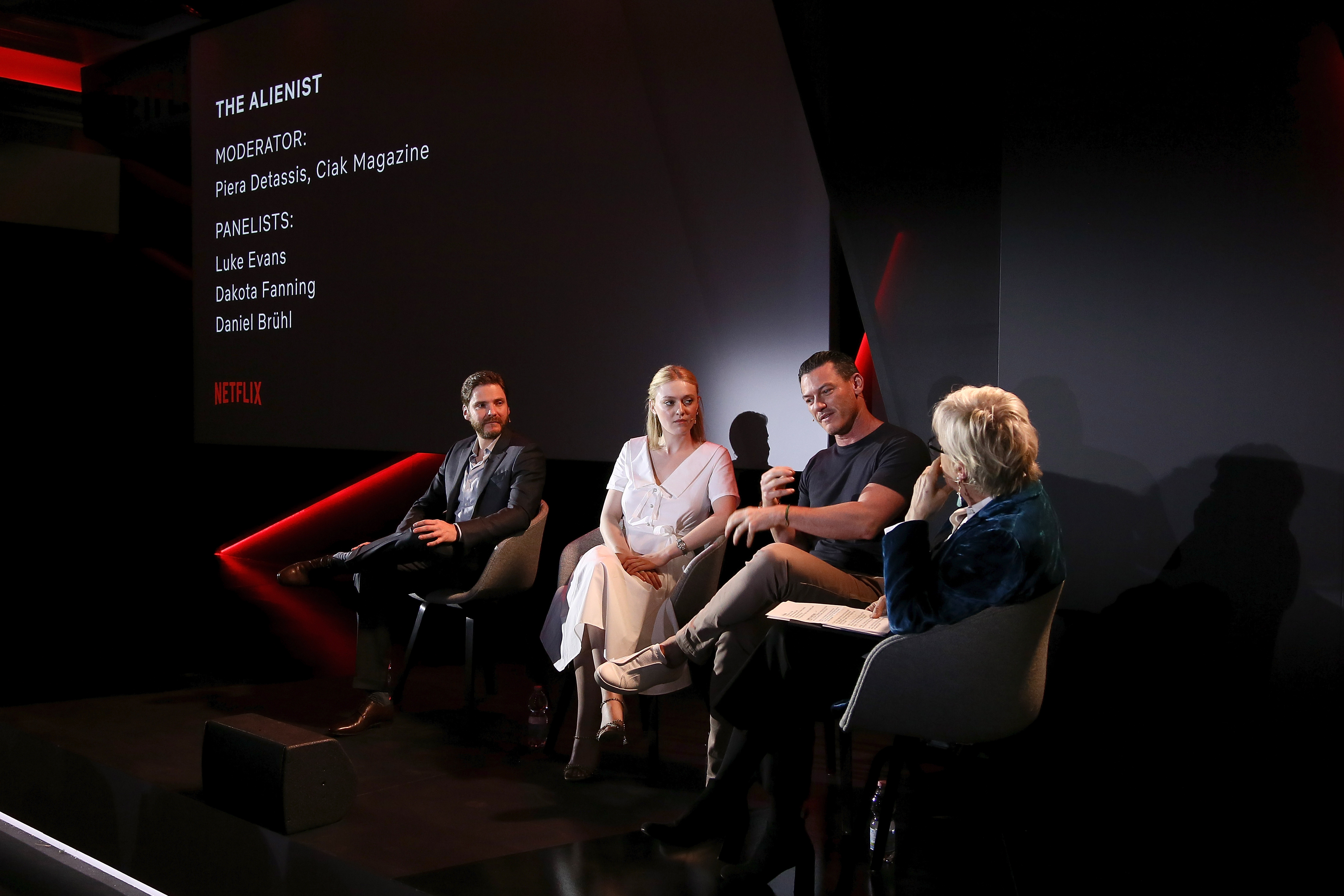 Netflix See What's Next Event In Rome