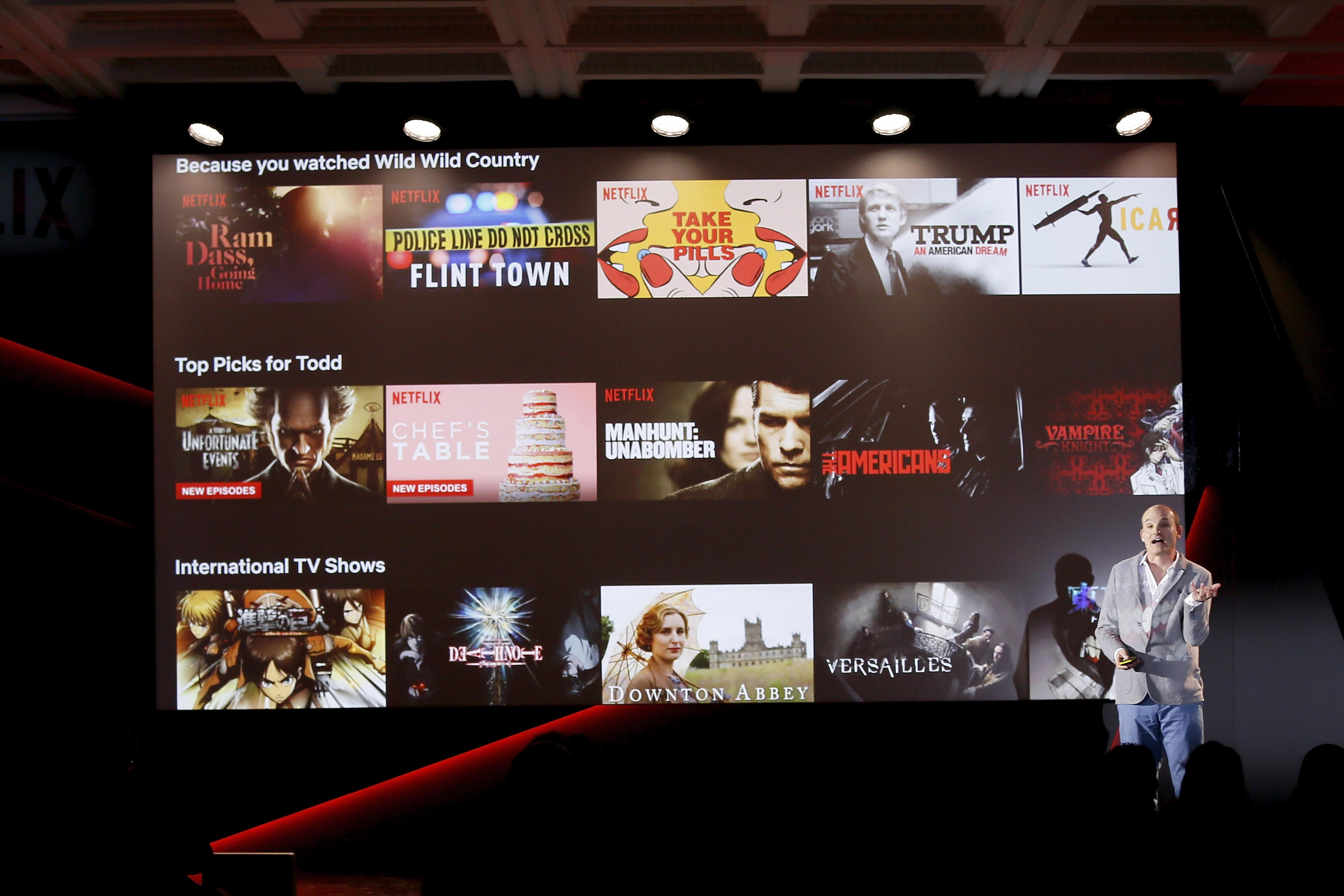 Nya tv satsningar gick trogt 2013