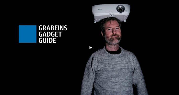 Gråbeins Gadget Guide: BenQ W1050
