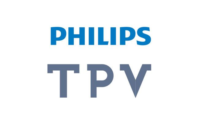 TPV overtar Philips-merket