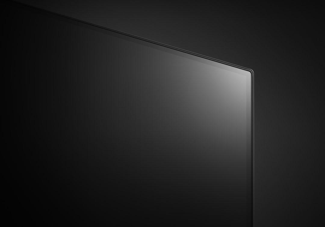 LG OLED65C8 er en av de tynneste TV-ene vi har sett.