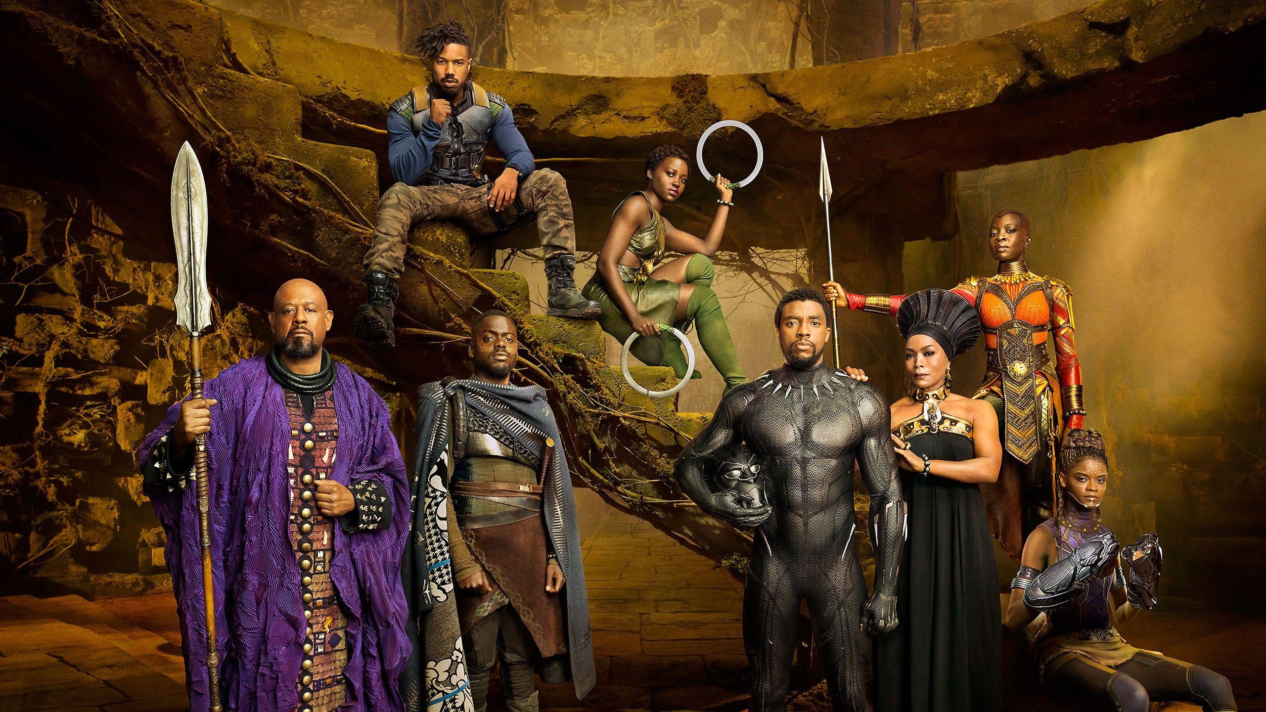 "Häftiga kostymer i ""Black Panther"" Foto: Walt Disney"