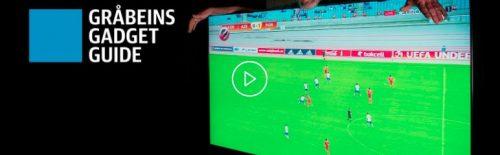 Fotball-VM krever stor skjerm