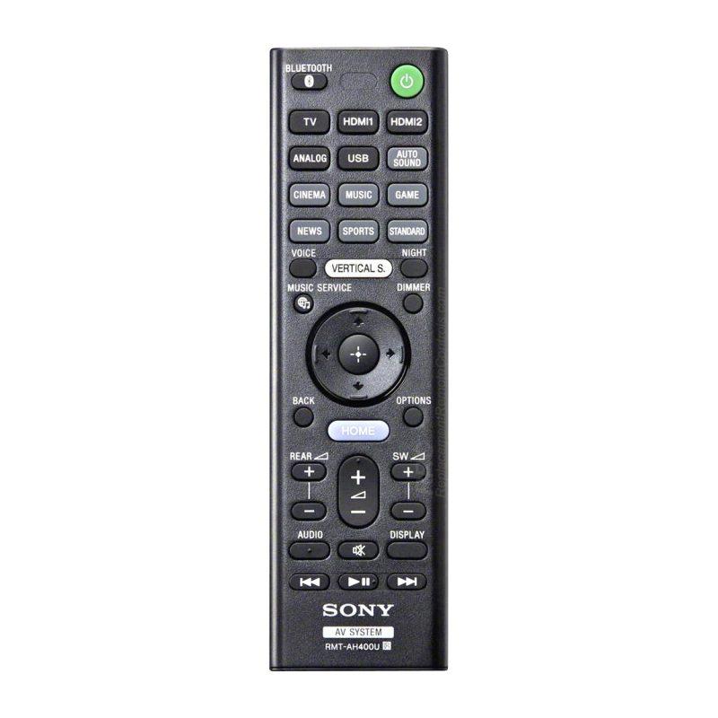 Sony HT-ZF9 remote
