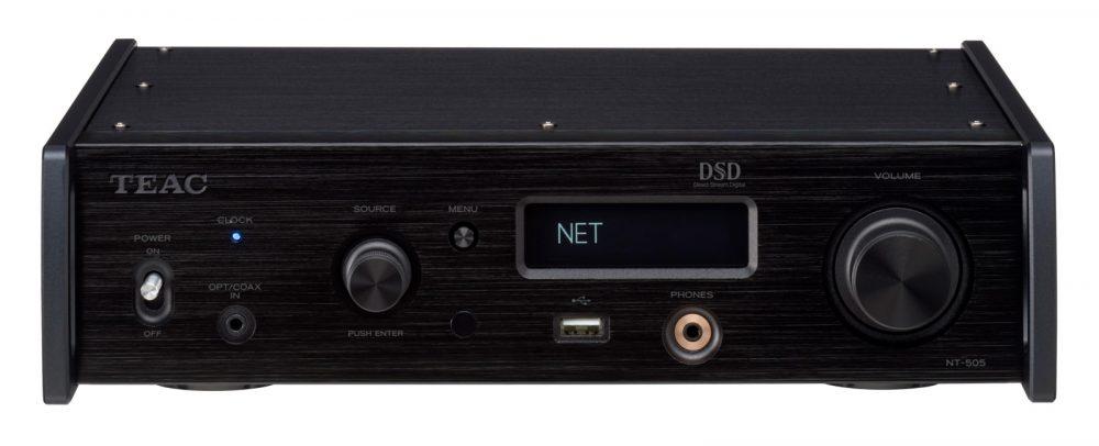 NT-505 är toppmodellen bland Teacs nätverksspelare. Och den är en DAC också. Foto: Teac