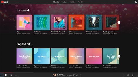 YouTube utfordrer Spotify