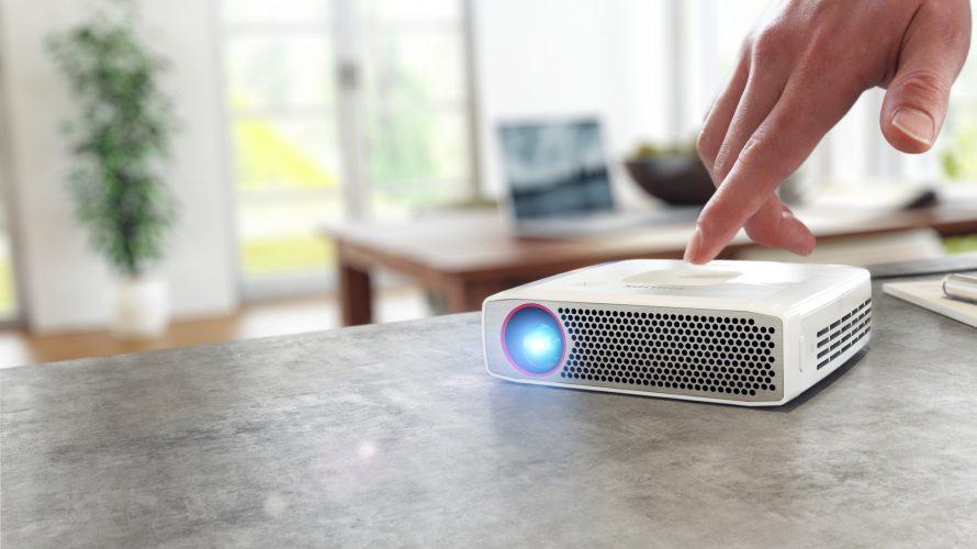 6 bærbare projektorer