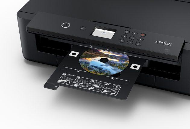 CD og DVD-utskrifter er også mulig.