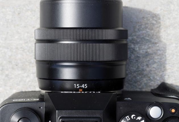 Kompakt elektronisk zoom som dekker 23-68mm.