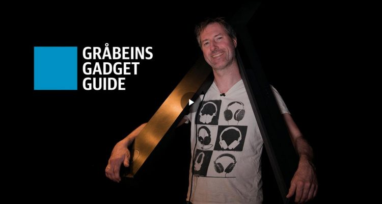 Gråbeins Gadget Guide - lydplanker 2018